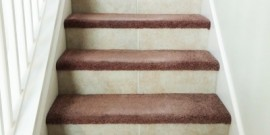 Ceramic Tile Stairs